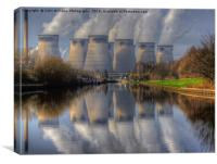 Ferrybridge 2, Canvas Print