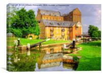 Coxes Lock and Mill Weybridge
