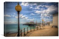Worthing Pier 3, Canvas Print
