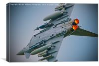 Eurofighter Typhoon RIAT 2016 - 2, Canvas Print