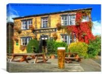 Cheers From The Woolpack Emmerdale., Canvas Print