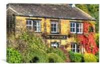 The Woolpack Emmerdale 2, Canvas Print