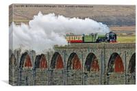Tornado At The Ribblehead Viaduct, Canvas Print