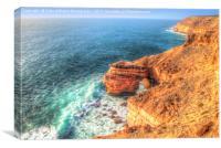 The Natural Bridge Kalbarri Western Australia  1, Canvas Print