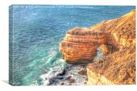 The Natural Bridge Kalbarri Western Australia  2, Canvas Print