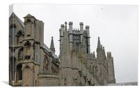 Octagon Tower Ely Cathedral, Canvas Print