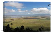 Lake Manyara, Canvas Print
