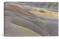 Seven Coloured Earths , Canvas Print