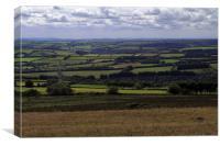 Exmoor Landscape, Canvas Print