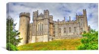 Arundel Castle Sussex, Canvas Print