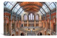 Natural History Museum, Canvas Print