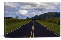 Hawaiian Mountain Range, Canvas Print