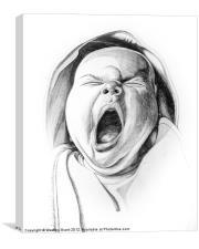 New Yawn, Canvas Print