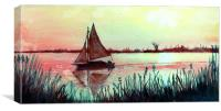 Dusk, Canvas Print