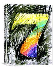 Lucky No. 7, Canvas Print