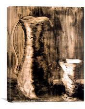 Edwardian Jug, Canvas Print