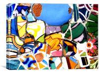 Gaudi, Canvas Print