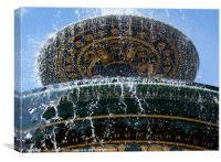 Fountain, Canvas Print