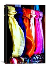 Silk, Canvas Print