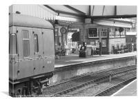 LLangollen Station, Canvas Print