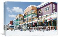 SILVERSTAR COLOUR silver star village resort build, Canvas Print