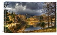 Blea Tarn In January, Canvas Print