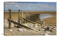 Aldingham Beach, Canvas Print