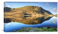 Mellbreak and Crummock Water, Canvas Print
