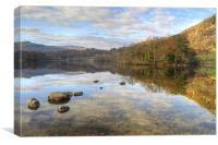 Rydal Water,The Lake District, Canvas Print