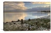The Leven Estuary, Canvas Print