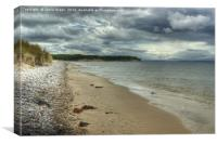Findhorn Beach, Canvas Print