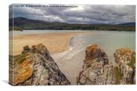 The Kyle Of Durness, Canvas Print