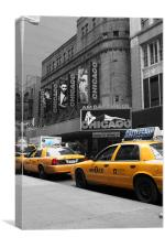 Just Off Broadway!, Canvas Print