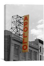 The Apollo Theatre Harlem, Canvas Print