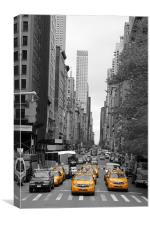 New York Streets, Canvas Print