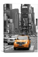 New York Taxi, Canvas Print