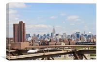 Brooklyn Bridge View, Canvas Print