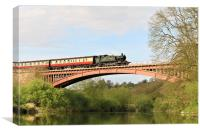 The Severn Valley Railway, Canvas Print