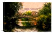 Norwich Bridge , Canvas Print