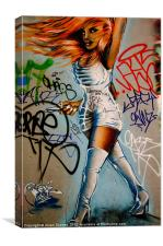 Graffiti Image, Canvas Print