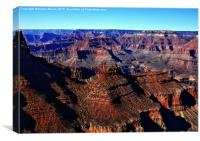 The Grand Canyon Arizona , Canvas Print