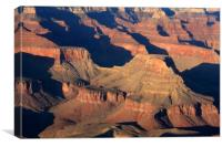 Grand Canyon Light  , Canvas Print