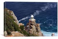 Cape Of Good Hope Lighthouse , Canvas Print