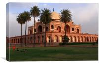Humayun's Tomb, New Delhi, India , Canvas Print