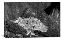 View Of Machu Picchu From The Inca Trail , Canvas Print
