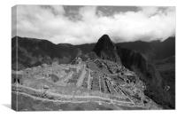 Machu Picchu, Lost City Of The Inca , Canvas Print