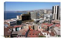 Valparaiso, Chile, South America , Canvas Print