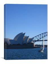 Sydney Harbour, Canvas Print