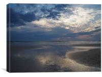 After the Rains - a Cornish Sunset, Canvas Print