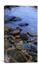 Tranquility in colour, Canvas Print